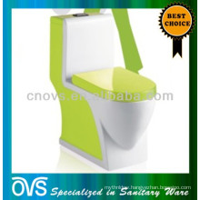 Best Selling Washdown Green Colored Toilets