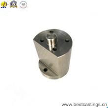Soem-kundenspezifische Bearbeitungsteile CNC-Präzisions-Aluminiumblock-CNC