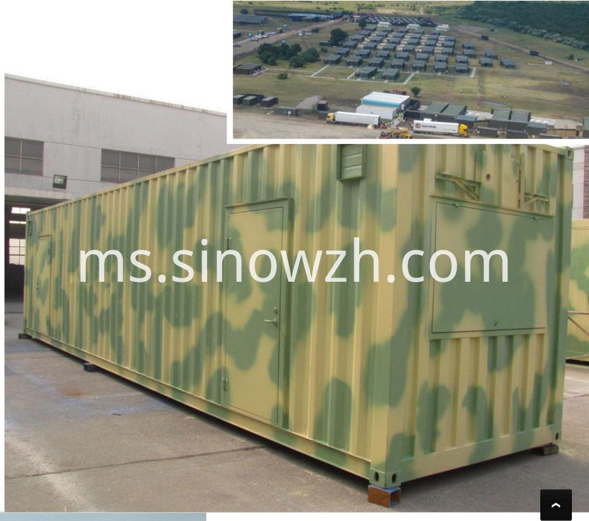 army camp container house