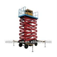 Plate-forme d'ascenseur de ciseaux électro-hydraulique