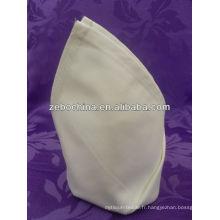Design de mode fabrication directe de luxe en gros serviette en coton pour restaurant