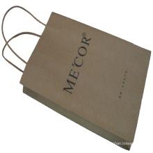 Bolsa de regalo de compras de papel de alta calidad de impresión personalizada para mayor