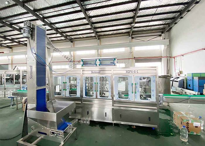 mineral water filling line machine