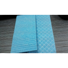 100% viscose 18x20cm 4mm wave cellulose sponge cloth