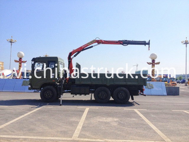 Dongfeng Truck Mounted Crane for Oil Field