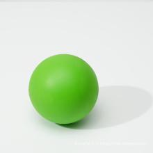 Balle de massage en caoutchouc de balle de crosse personnalisée à bille solide