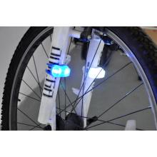 Luz trasera de la lámpara de la bici del silicón