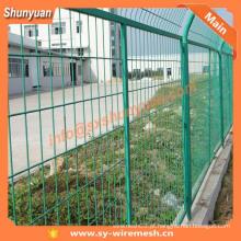 Frame vedação soldada / cerca de proteção de malha de arame