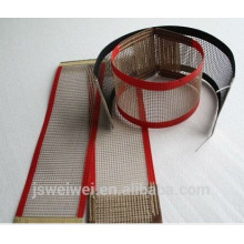 ptfe fiberglass mesh for Conveyor shrink wrapping machine heat tunnel