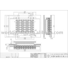 Rubber Mould, injection mold/compression mold/transfer rubber mold