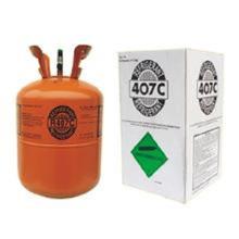 OEM disponible refrigerante de gas hfc-R407C Cilindro irrecuperable 13.6 kg Residuo evaporado 0.01% para el mercado de Indonesia