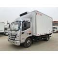 Foton freezer truck for fresh vegetables transportation