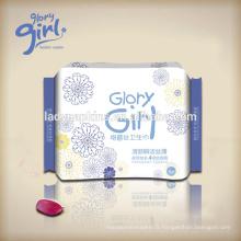 Serviettes de serviettes hygiéniques Max-plus pour femmes