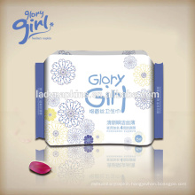 Max-plus sanitary napkin pads for women night use