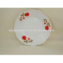 "Plato de sopa de porcelana de 9 "", porcelana barata de porcelana"