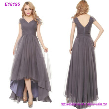 Top Fashion Tulle Long Evening Dress for Lady