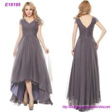 Топ мода тюль длинное вечернее платье для Леди
