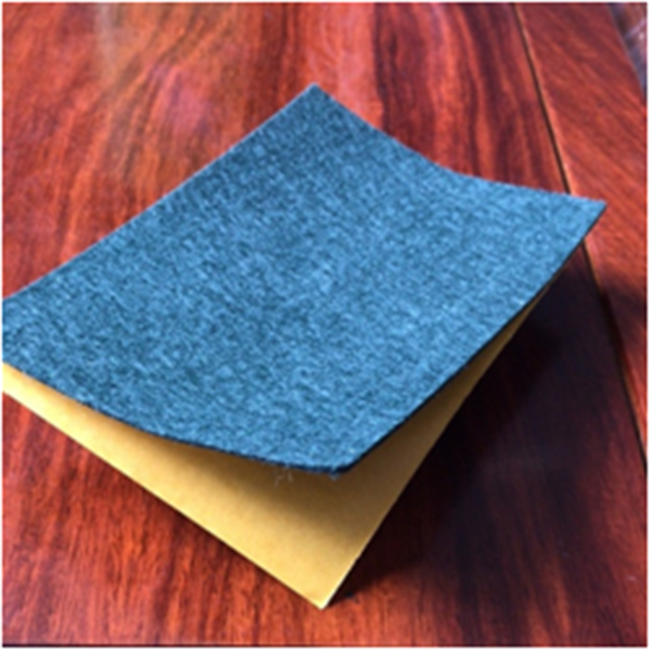 Back adhesive non-woven fabric