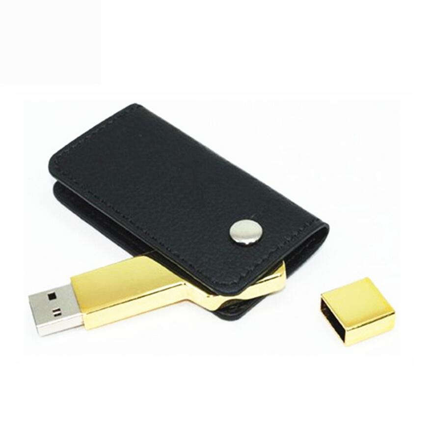 key usb with leather 2