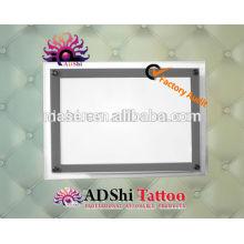A3 & A4 acrílico tatuagem caixa de iluminação, acrílico e levou caixa de luz tatuagem, Tattoo Light Box A4 Stencil Tracing Table