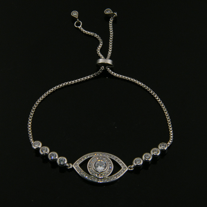 New Arrival High Quality Evil Eye Tennis Bracelet