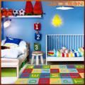 Tapetes laváveis do quarto moderno decorativo crianças