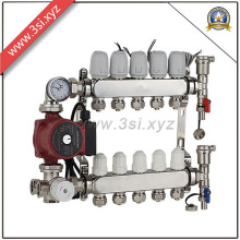 Floor Heating Water Separator with Discharge Record Meter (YZF-PZ160)