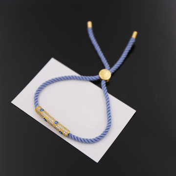 Gelang Mata Jahat Cotton String Macrame Stretch Bracelet