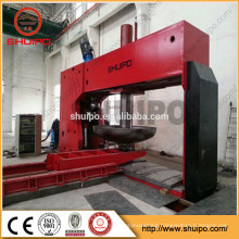 Hydraulic Dished End Configuring Machine LPG Tank dished end pressing machine
