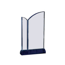 Blank Glass Crystal Award Plaque