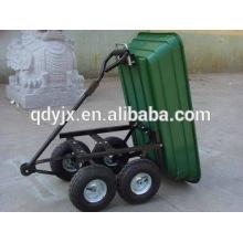 chariot de jardin chariot poly benne basculante TC2145
