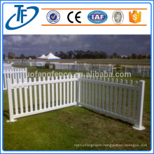 Top quality galvanized garrison fence professional manufacturer