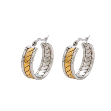 E-586 xuping fashion  Multicolor Rhinestone simple design  Hoop Earrings for women
