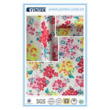 75D * 150d Poly Polyester Dull Satin Imprimé Tissu