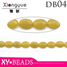 Grânulo de jóias de diamante amarelo para pulseira de cordão ou colar
