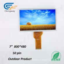 Panneau LCD 7FT Résolution 800 * 480 TFT
