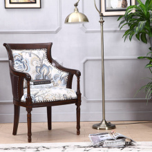 High Quality for Stainless Steel Legs Barcelona Chair High Wing Back Carved Living Room Armchair supply to South Korea Factories