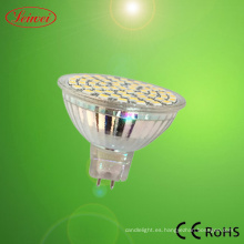 1.8W proyector SMD LED (MR16, 12PCS SMD 5050 LED)