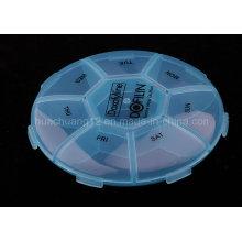 Promocionais de plástico de alta qualidade Pill Caixa Plb27