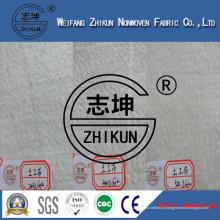 Tecido não tecido de poliéster (200GSM 400GSM 500GSM 1000GSM)