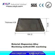 Peças de usinagem CNC de magnésio