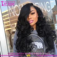 Nova chegada 100% perucas de cabelo humano atacado barato perucas de cabelo humano para as mulheres negras 2015 populares glueless perucas cheias do laço