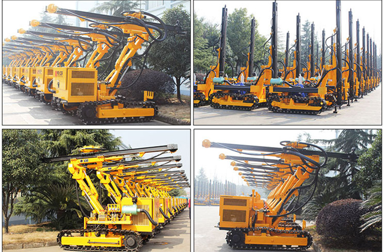 rock drilling rig description