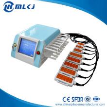 СИД 650nm лазера потери веса красотки обработки кожи машина