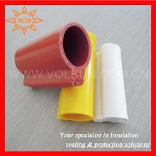 Cubierta de línea aérea de goma de silicona con aislamiento de alambre