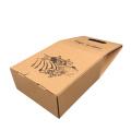 Custom Paper Wine packing Bag 2 Bottle