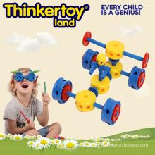 Bebê fácil criativo carro de construção 3d puzzle brinquedos