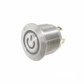 16mm LED Switch Tekan Push Metal