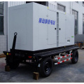 120KVA Soundproof Trailer Genset with Cummins Engine
