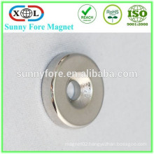 powerful north- south direction countersunk magnet